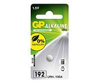 Батарейки GP - Alkaline Cell 192 LR41 1.5V 10/100шт