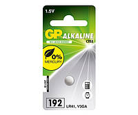 Батарейки GP - Alkaline Cell 192 LR41 1.5V 10/100шт