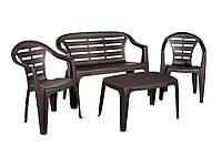 Комплект пластиковой мебели Maduro Set