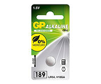 Батарейки GP - Alkaline Cell 189 LR54 1.5V 10/100шт