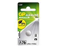 Батарейки GP - Alkaline Cell A76 LR44 1.5V 10/100шт