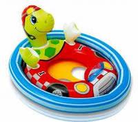 Детский круг плотик Черепаха Intex 59570