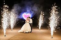 Пиротехника на свадьбу, фонтан 3 метра. 30 сек, есть 100+ шт. Скидка!