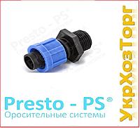 Стартер для ленты с 1/2 наружной резьбой Presto-PS