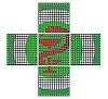 Аптечный крест Flylights Полноцвет 96
