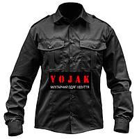 Рубашка  POLICE Длинный рукав BLACK