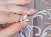 Cеребряное кольцо Двойное