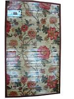 Коврик бамбуковый с рисунком, на подкладке - 70 х 90 см.
