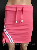 Молодежные трикотажные юбки на лето.