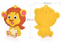 Лев, силиконовый прорезыватель