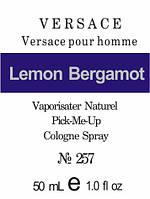 Масляные духи версия аромата Versace Pour Homme Versace для мужчин 50 мл