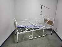 Кровать медицинская функциональная 3-х секционная (ложе сетка) для лежачих больных и больных после инсульта