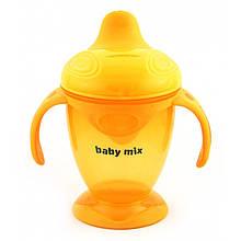 Поильник - непроливайка с мягким носиком Baby Mix