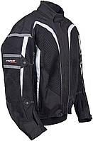 Roleff RO 607 Mesh Jacket Black, S Мотокуртка текстильная летняя, фото 1