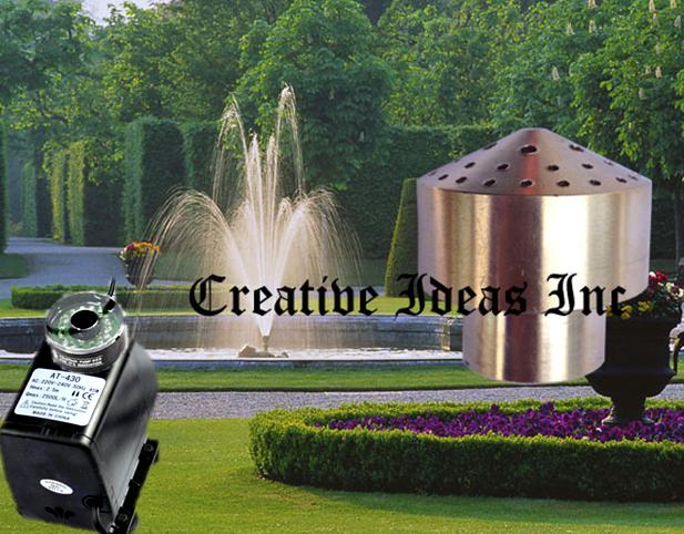 Насос для фонтана с подсветкой и насадкой Фейерверк 4 яруса  - «eMarkt» — интернет-магазин электроники uliachumak933@gmail.com в Харькове