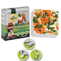 Минеральный камень Karlie-Flamingo Knibbles Corn Croquettes для грызунов с кукурузой, 75 г