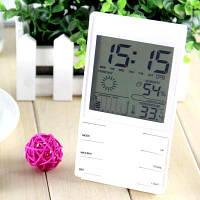 Термогигрометр HTC-2S (CX-505) (0°C... +60°C; 20%…99%) с календарём, часами и будильником