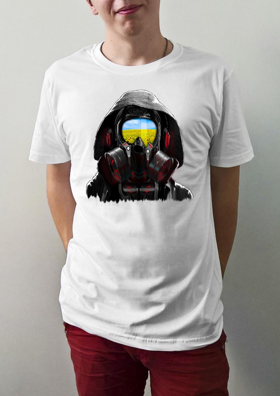 """Мужская футболка """"Противогаз"""""""