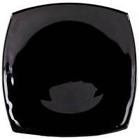 Quadrato Black.Тарелка обеденная квадратная 26см Luminarc J0591