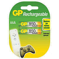 Аккумуляторы GP - Rechargeabl AAA HR03 Ni-MH 850mAh 1.2V 2/20/200шт