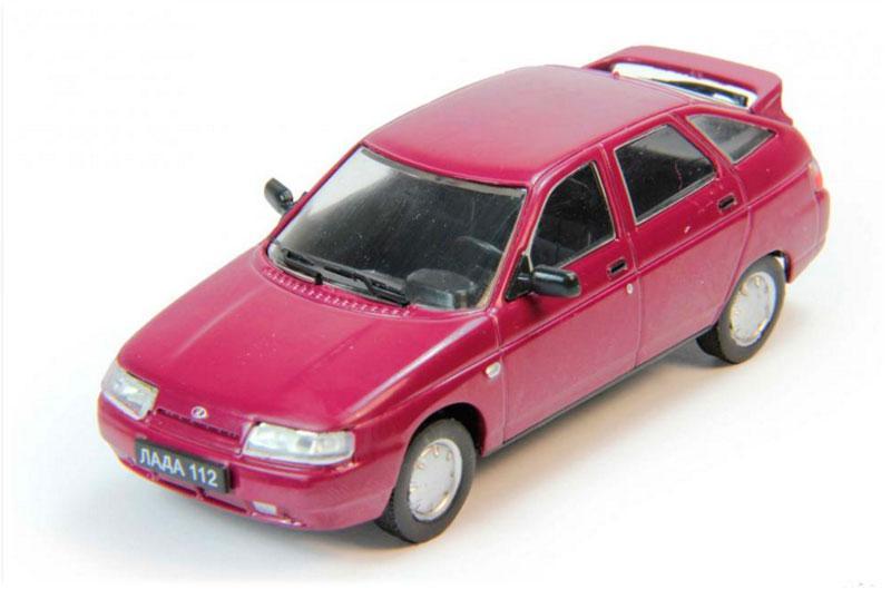 Модель коллекционная Автолегенды (DeAgostini) №183 ВАЗ-2112 1:43