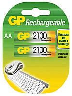 Аккумуляторы GP - Rechargeabl АА HR6 Ni-MH 2100mAh 1.2V 2/20/200шт