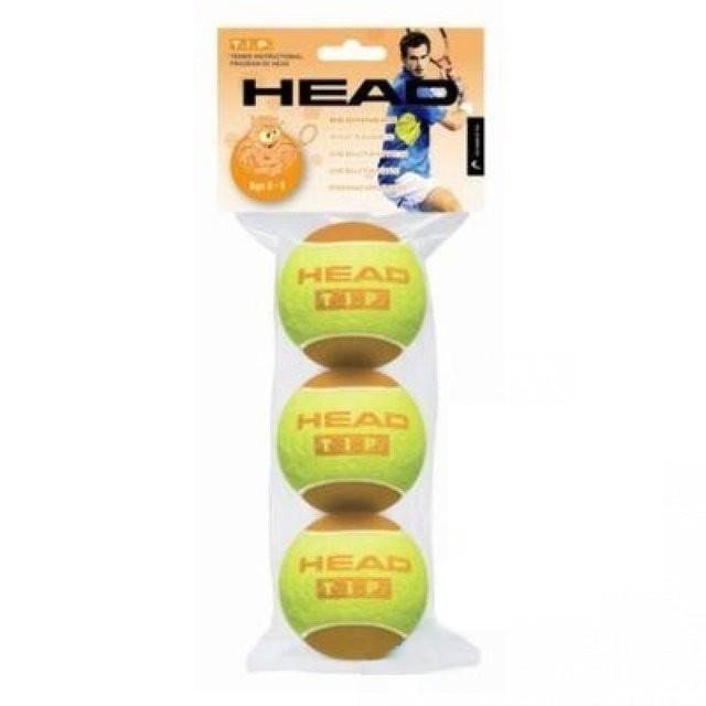 Мяч для большого тенниса Head TIP orange. Распродажа