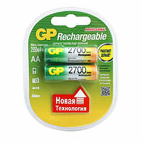 Аккумуляторы GP - Rechargeabl АА HR6 Ni-MH 2700mAh 1.2V 2/20/200шт