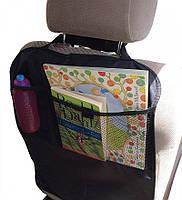 Накидка защитная на спинку сидения в авто с карманом (чехол)