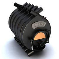 Твердотопливная канадская печь Булерьян тип-03 С14 (стекло) QUEBEC (мощность 26 кВт)