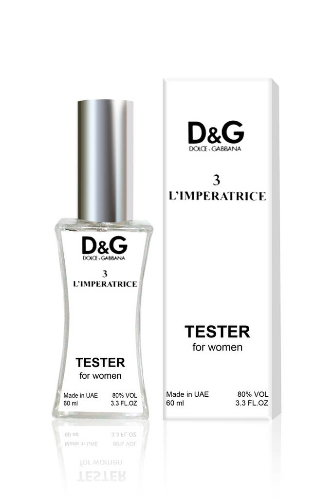 Тестер женский Dolce & Gabbana 3 L`Imperatrice (Дольче Габбана 3 Императрица), 60 мл