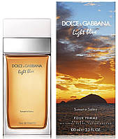Оригинал D&G Light Blue Sunset in Salina edt 100ml Дольче Габбана Лайт Блю Сансет ин Салина