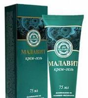 Малавит крем-гель обладает мощным противовоспалительным, антисептическим действием, 75 мл