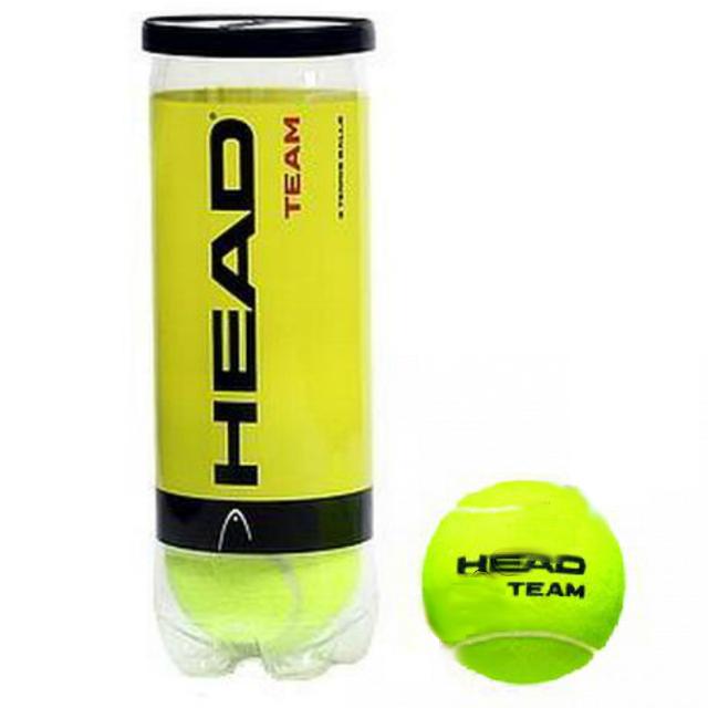 Мяч для большого тенниса HEAD Team (4шт). Распродажа