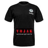 "Футболка ""ПОЛIЦIЯ"" BLACK"