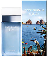Оригинал Дольче Габбана Лайт Блю Лав ин Капри 100ml D&G Light Blue Love in Capri