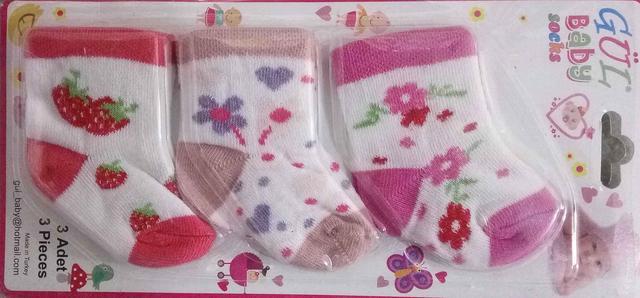 Детские носки для новорожденных 0-6 мес