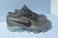 Кроссовки мужские Nike Vapor Max (558) серые код 0533А