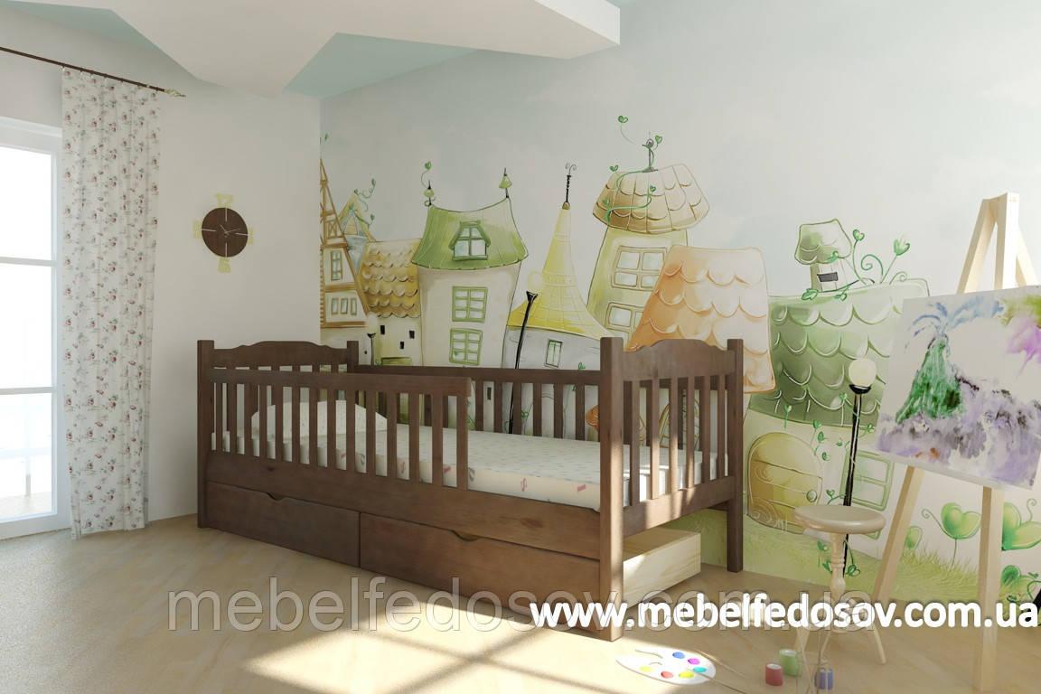 Кровать Карина односпальная 90 (Мебигранд/Mebigrand) 960х2020(2120)х800мм