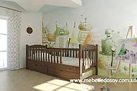 Кровать Карина односпальная 90 (Мебигранд/Mebigrand) 960х2020(2120)х800мм , фото 1