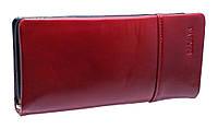 Женский кошелек C9116 wine red