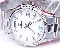 Стильные женские кварцевые водостойкие наручные часы OLIPAI JT9029-SD-SWSilver, фото 1