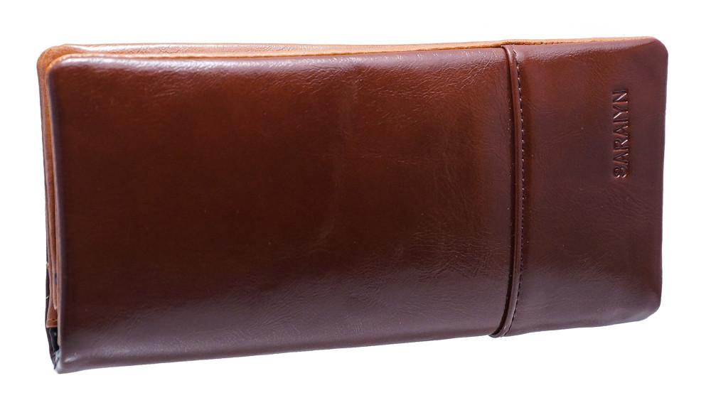 Женский кошелек C9116 coffee