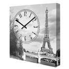 Часы на холсте Париж 14I015