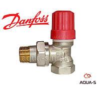 Клапан радиаторный термостатический угловой с предварительной настройкой Danfoss RA-N 15