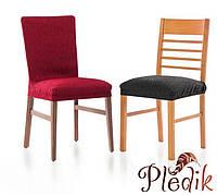 Чехлы на стулья Испания, Диамант (упаковка 6 шт) Лен