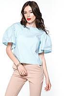 """Блуза широкий рукав """"Romantic"""" м'ята"""