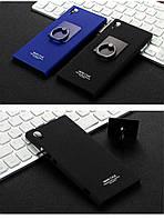 Пластиковый чехол Imak с кольцом-подставкой для Sony XA1 Ultra (2 цвета)