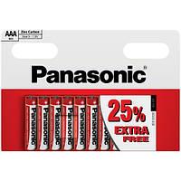 Батарейки Panasonic - Red Zinc ААА R03 1.5V 10/200шт