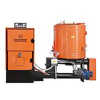 Водогрейный котел на щепе бытовой CSA 100 кВт, фото 1